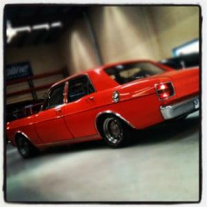 Classic Car at Kaspa Transmissions
